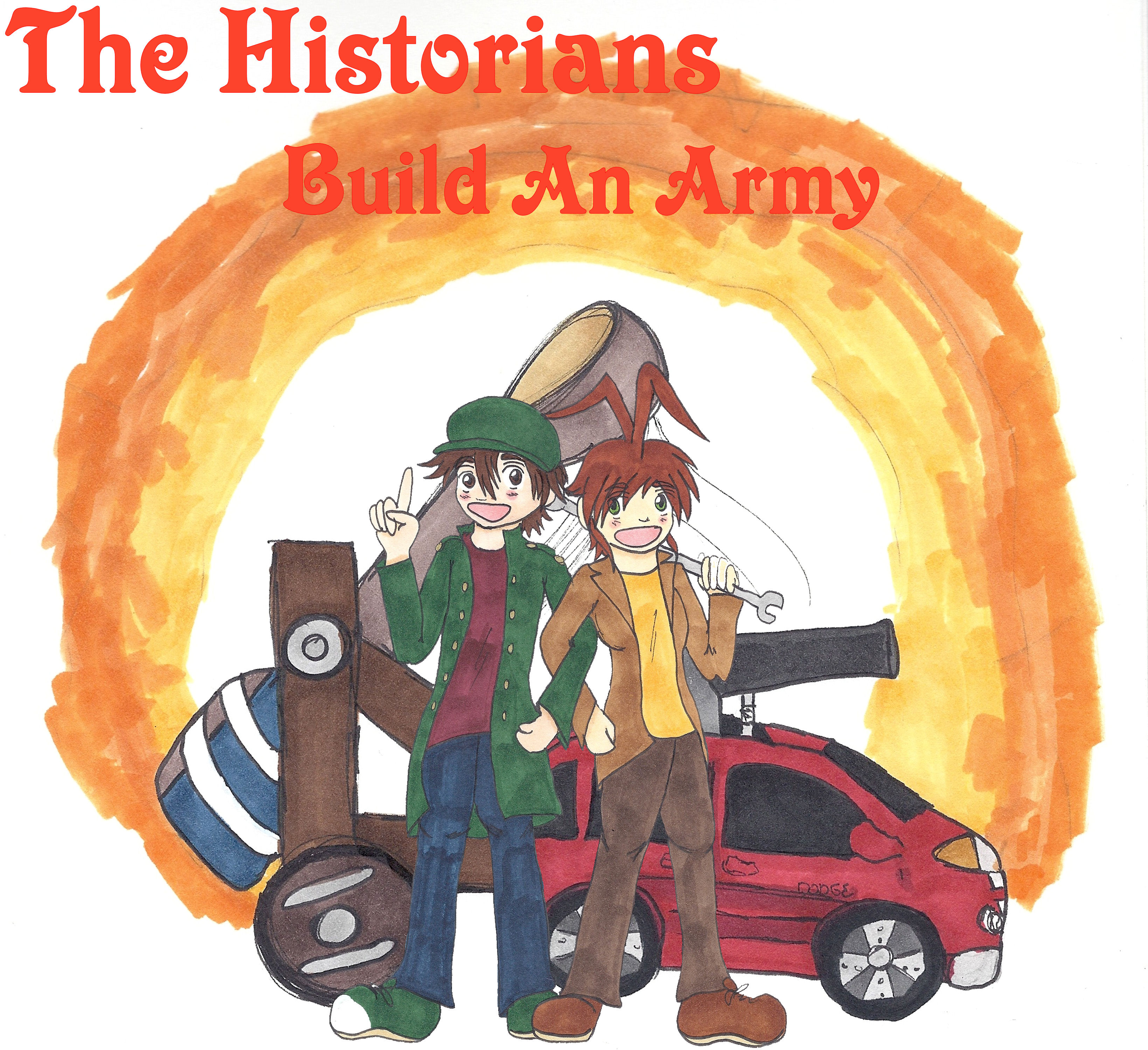Splash Page: The Historians Build An Army